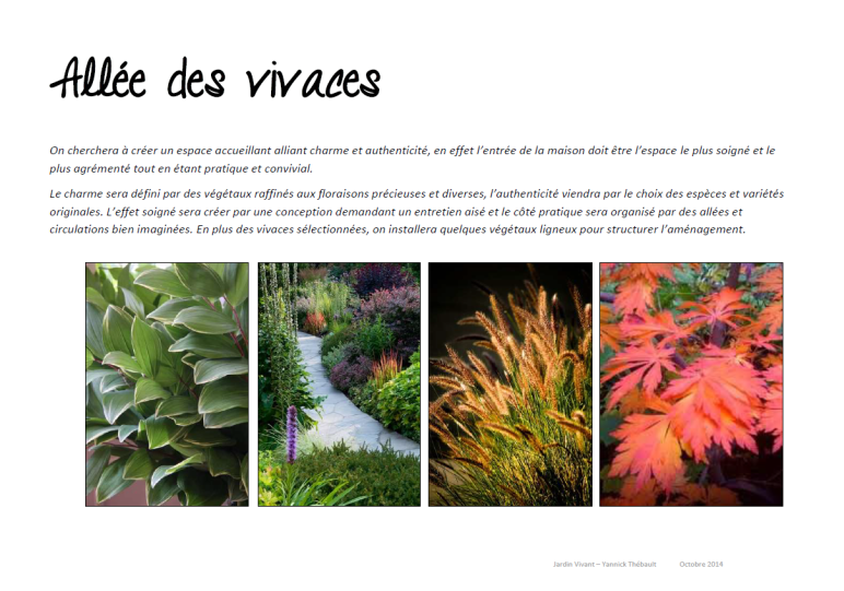 Conception plans paysagiste jardin vivant for Jardin vivant