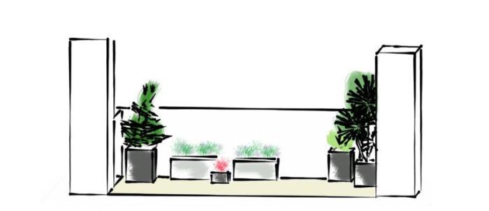 terrasse balcon potager Jardin Vivant