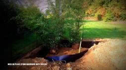 Réalisation d'une forêt de bambou - Phyllostachys nigra - Barrière anti-rhizomes