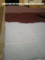 Allée en gravillon avec nidagravel - Saint aubin d'aubigné