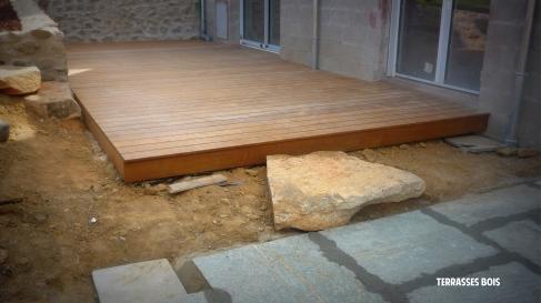 Terrasse en bois - Saint Malo