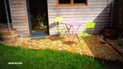 Terrasse naturelle en bois - Bruz