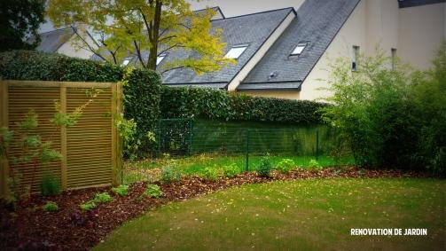 Rénovation de jardin - Saint Grégoire