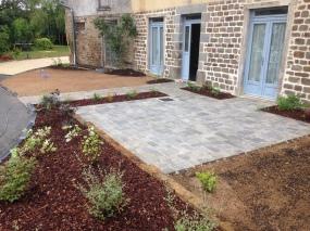 Terrasse pavé 3 formats Marlux New Hedge Vieilli - VIGNOC