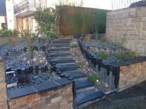 Création jardin Saint Aubin d'Aubigné